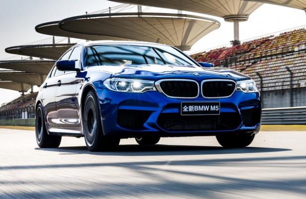 Новый BMW M5 впервые стал рекордсменом 1