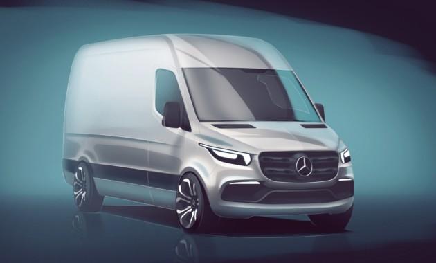 Mercedes-Benz показал новый Sprinter на видео 1
