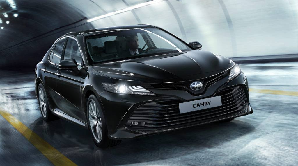 «Новый уровень»: тест-драйв новой Toyota Camry 2
