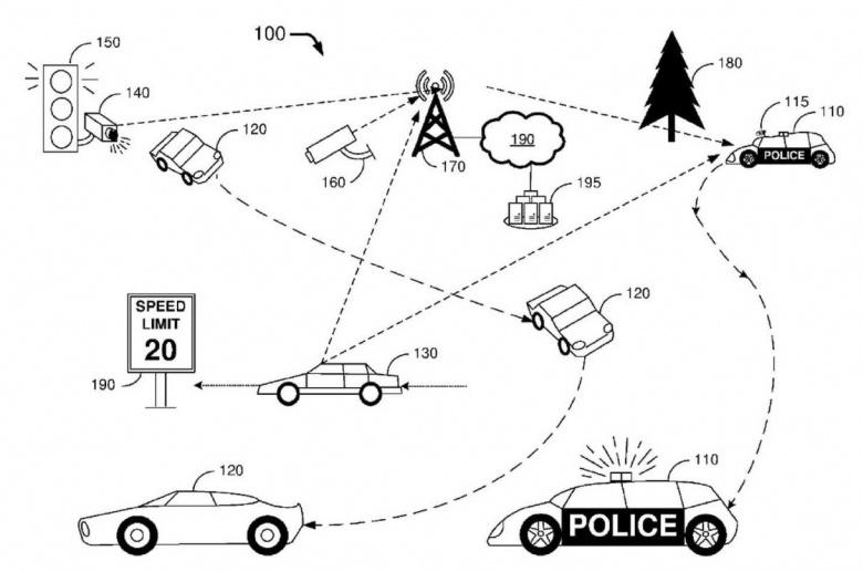 Ford показал беспилотный полицейский автомобиль 2