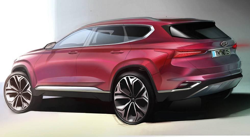 Hyundai практически полностью рассекретил новый Santa Fe 2