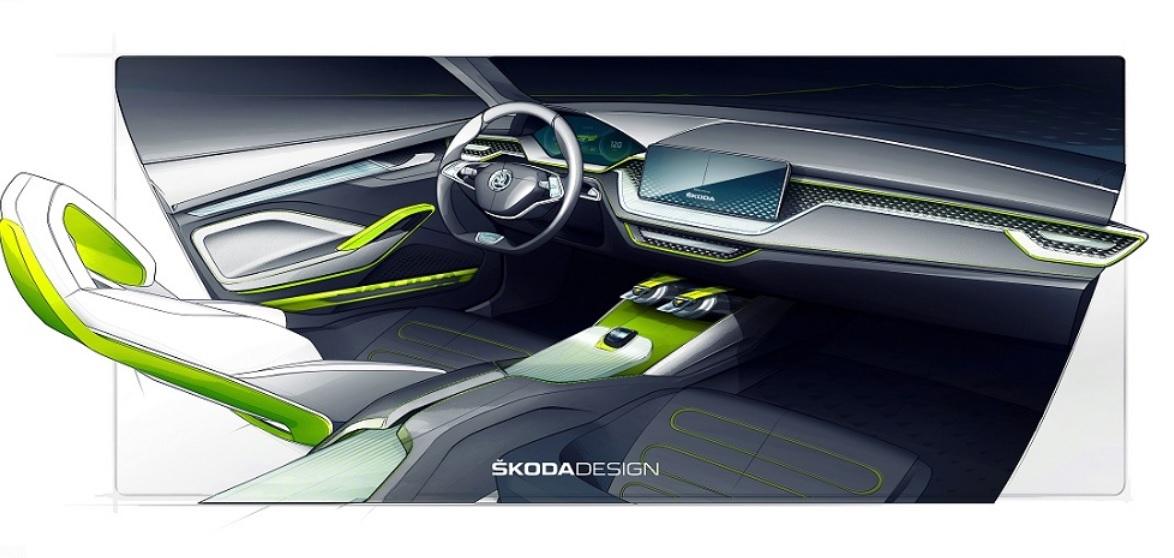 Skoda покажет в Женеве новый концепт 2