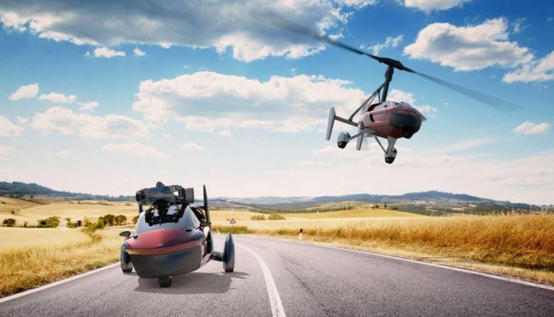 Голландцы представят в Женеве серийный летающий автомобиль 1