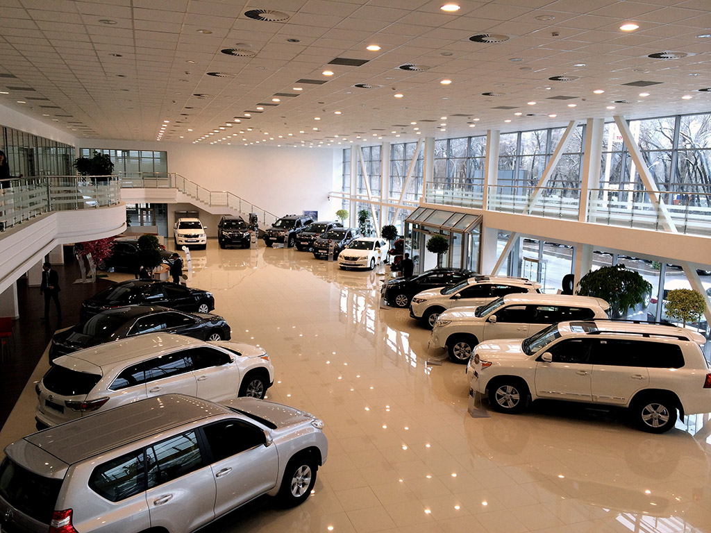 Продажи легковых автомобилей в Украине снова растут 1
