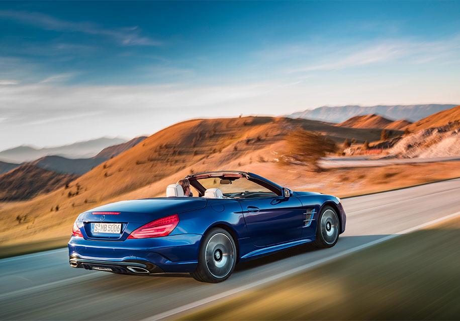 Merccedes-Benz SL обзаведется 800-сильной гибридной установкой 1