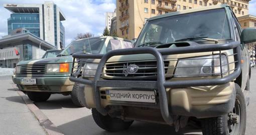 Волонтеров штрафуют за передачу автомобилей в зону АТО 1