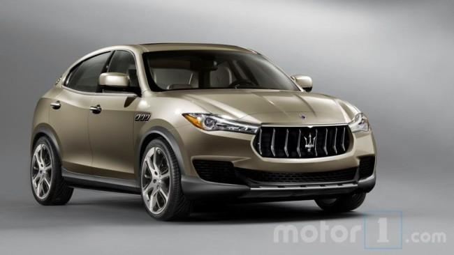 Опубликованы снимки нового внедорожника Maserati Kubang 1