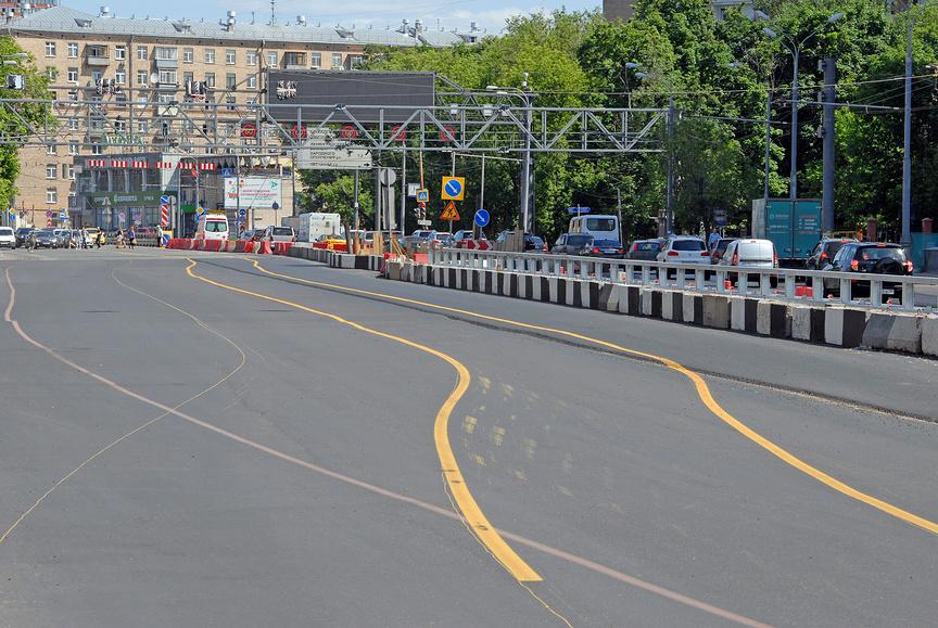 Правила езды во время дорожных работ 3