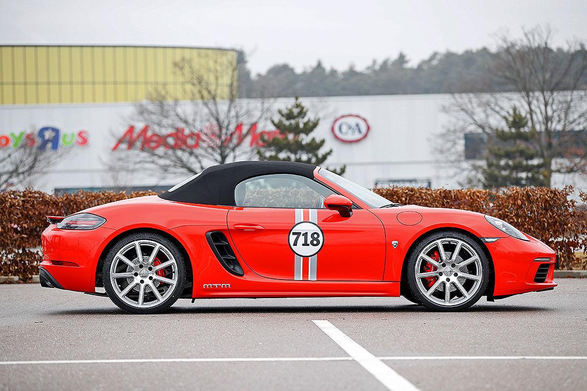 «Бой века»: сравнительный тест-драйв Porsche 718 Boxter S TTP и MTM 3