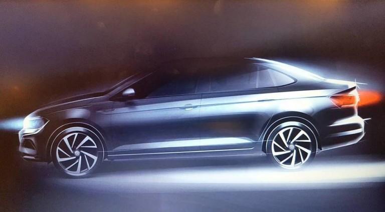 Опубликовано первое изображение нового Volkswagen Polo 1