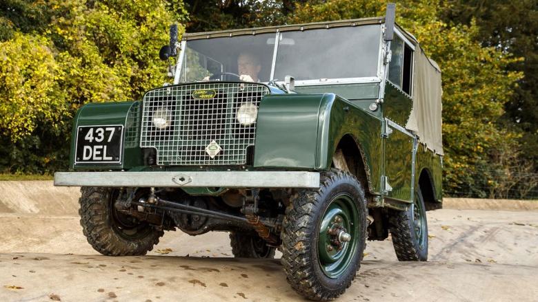 Jaguar Land Rover предлагает совершить путешествие в прошлое 1