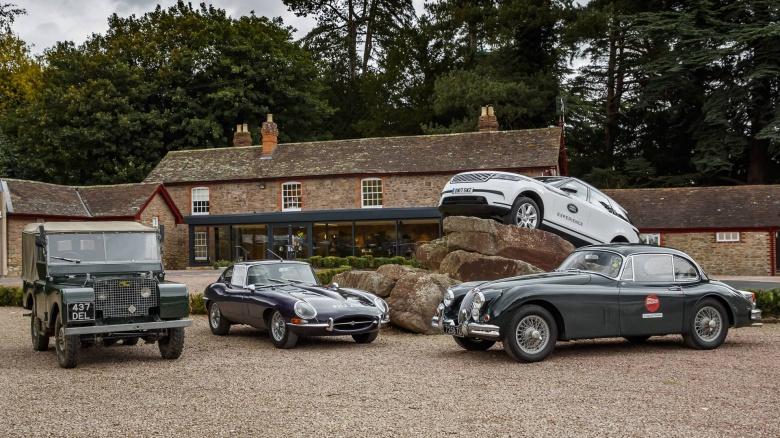 Jaguar Land Rover предлагает совершить путешествие в прошлое 3
