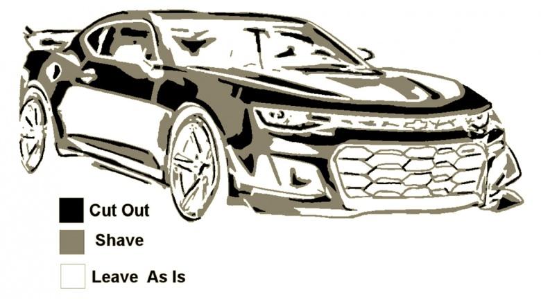 General Motors опубликовал инструкцию, как вырезать на тыкве Chevrolet Camaro 2