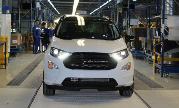 Ford EcoSport для Европы стал на конвейер 1