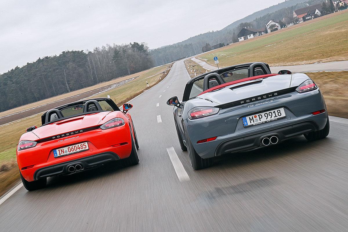 «Бой века»: сравнительный тест-драйв Porsche 718 Boxter S TTP и MTM 2