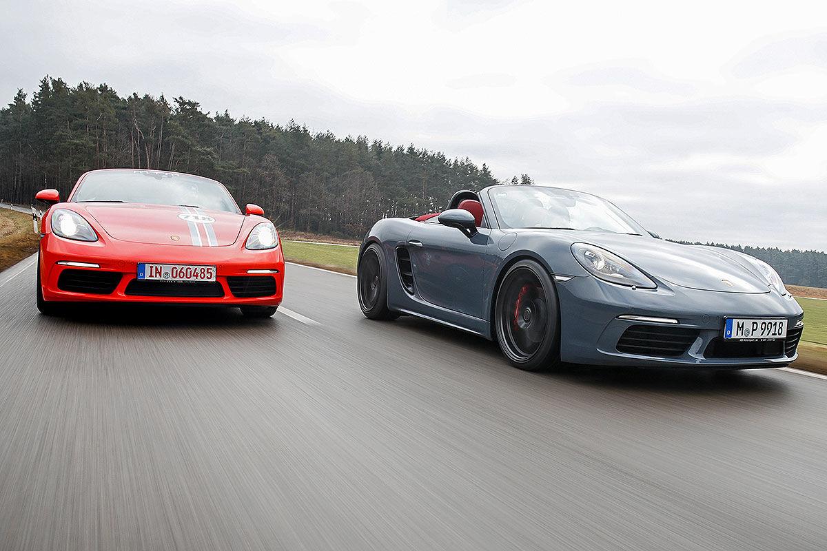 «Бой века»: сравнительный тест-драйв Porsche 718 Boxter S TTP и MTM 1