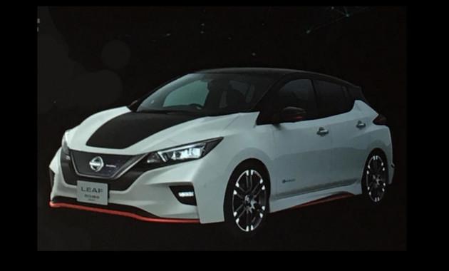 Как будет выглядеть «заряженный» Nissan Leaf 1