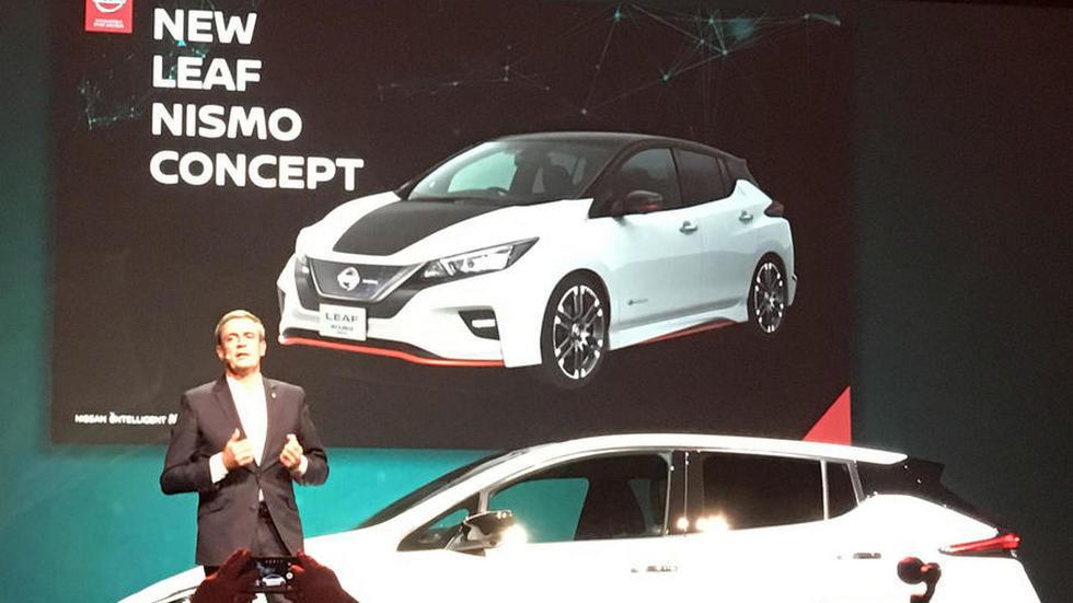 Как будет выглядеть «заряженный» Nissan Leaf 2