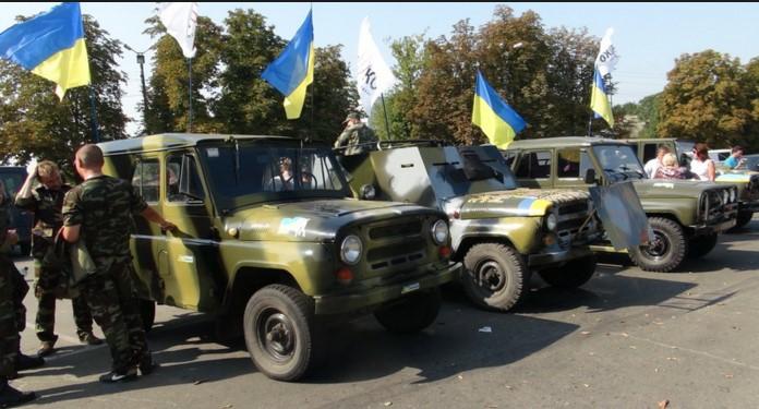 Волонтеров штрафуют за передачу автомобилей в зону АТО 3