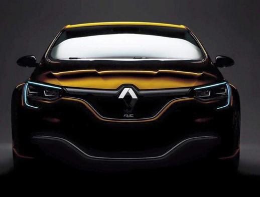 Renault Megane RS нового поколения готовится к премьере 1