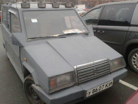 Киевлянин превратил Ладу в настоящего «монстра на колесах» 1