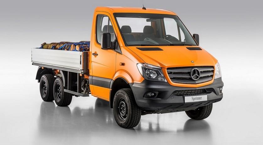 Mercedes представил внедорожную модификацию Спринтера 1