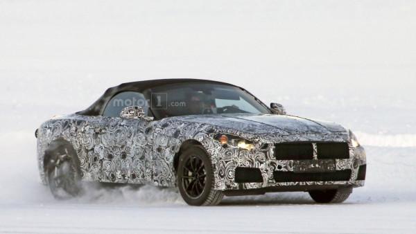 Во время прохождения испытаний замечен родстер BMW Z5 1