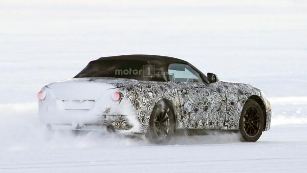 Во время прохождения испытаний замечен родстер BMW Z5 2