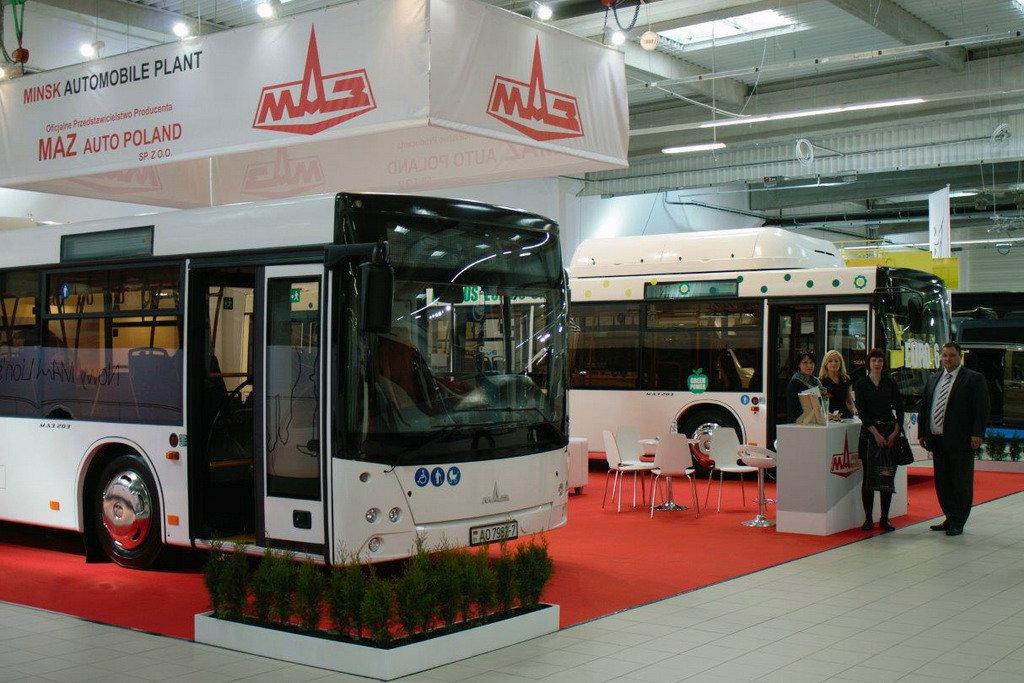 Минский автозавод представил свои новые автобусы 1