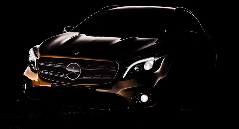 Mercedes обновит свой маленький кроссовер 1
