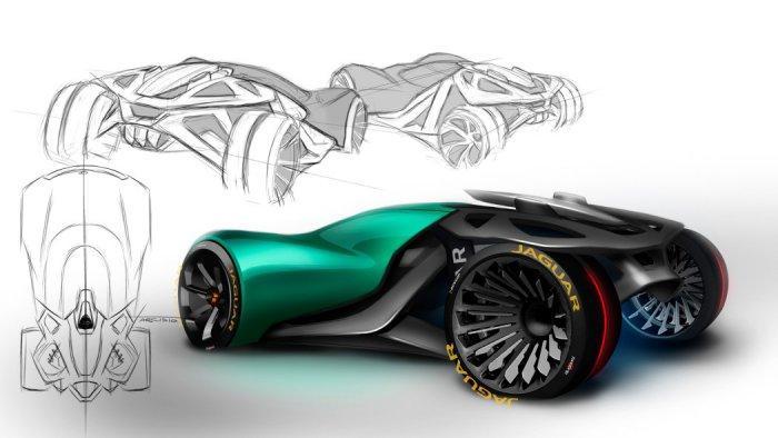 Компания Jaguar представила футуристический концепт 2