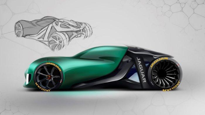 Компания Jaguar представила футуристический концепт 1