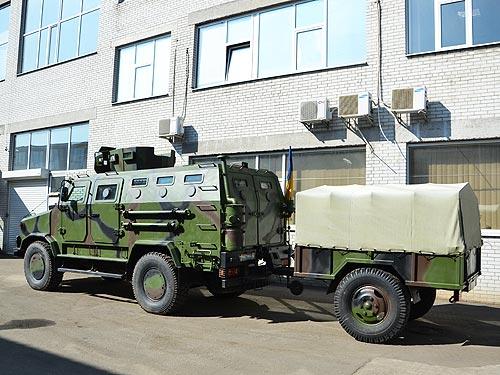 Для зоны АТО подготовили обновленный бронемобиль «Козак-2» 1