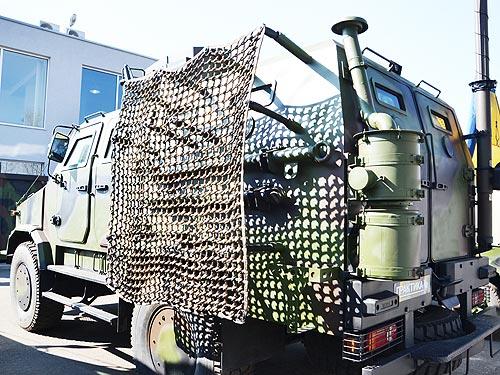 Для зоны АТО подготовили обновленный бронемобиль «Козак-2» 5