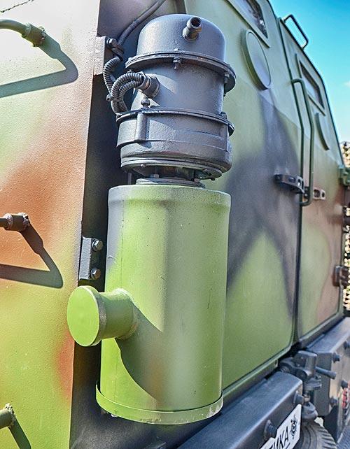 Для зоны АТО подготовили обновленный бронемобиль «Козак-2» 7