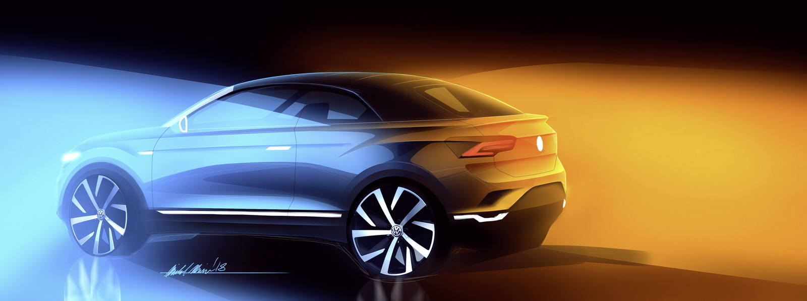 Volkswagen выпустит очень необычный кроссовер 1