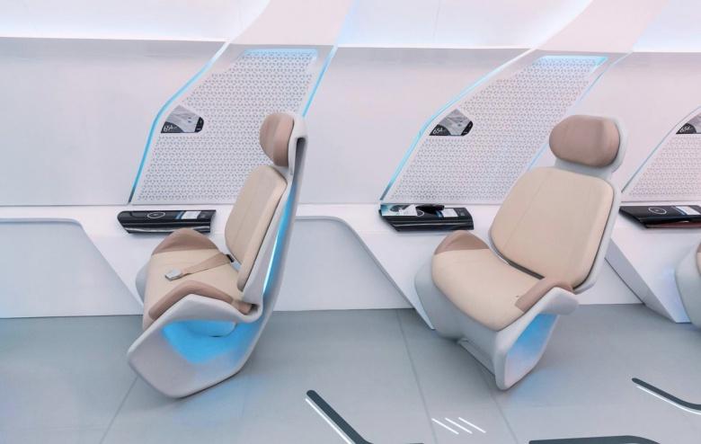 Каким будет интерьер капсул Hyperloop 2