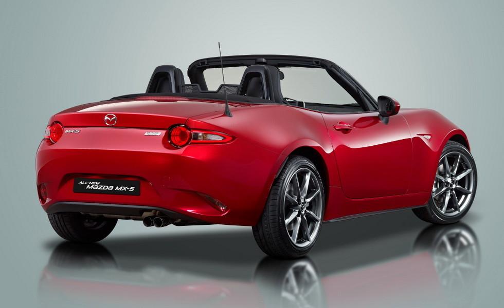 Обновленная Mazda MX-5 станет мощнее 2