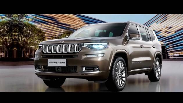Компания Jeep раскрыла новый семиместный внедорожник 1