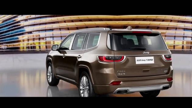 Компания Jeep раскрыла новый семиместный внедорожник 2