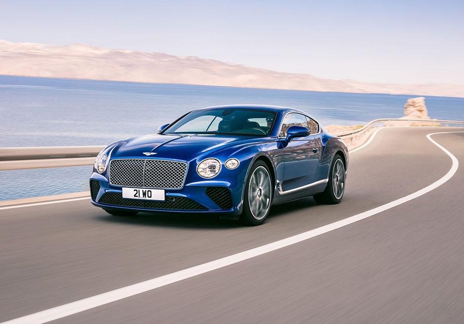Bentley везет в Женеву таинственную новинку 1