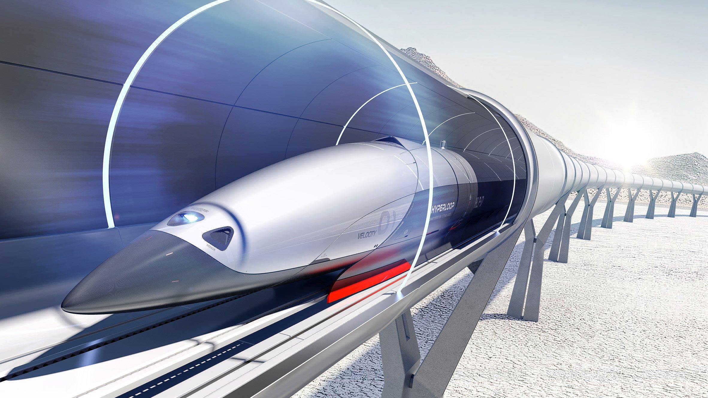 Министр инфраструктуры хочет запустить Hyperloop 1