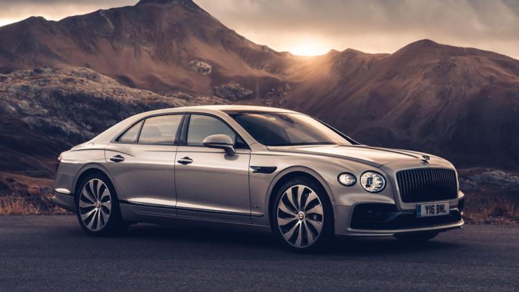 Стартует производство нового седана Bentley 1