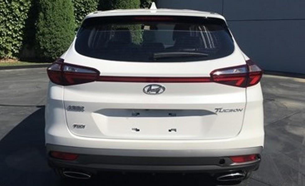 Рассекречен «другой» обновленный Hyundai Tucson 1