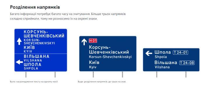 В Украине появятся новые дорожные знаки 6