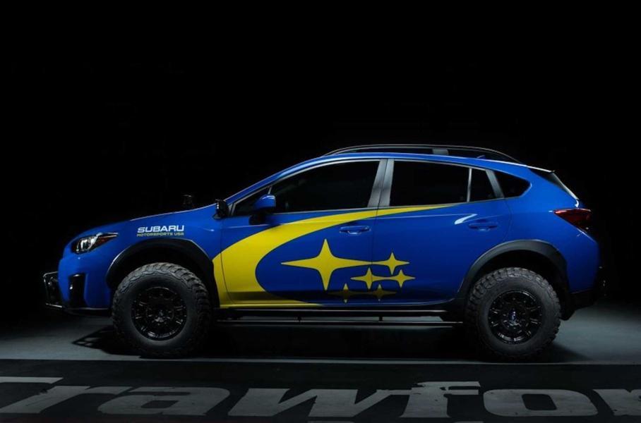 Subaru XV превратили в раллийный багги с 27-сантиметровым клиренсом 2