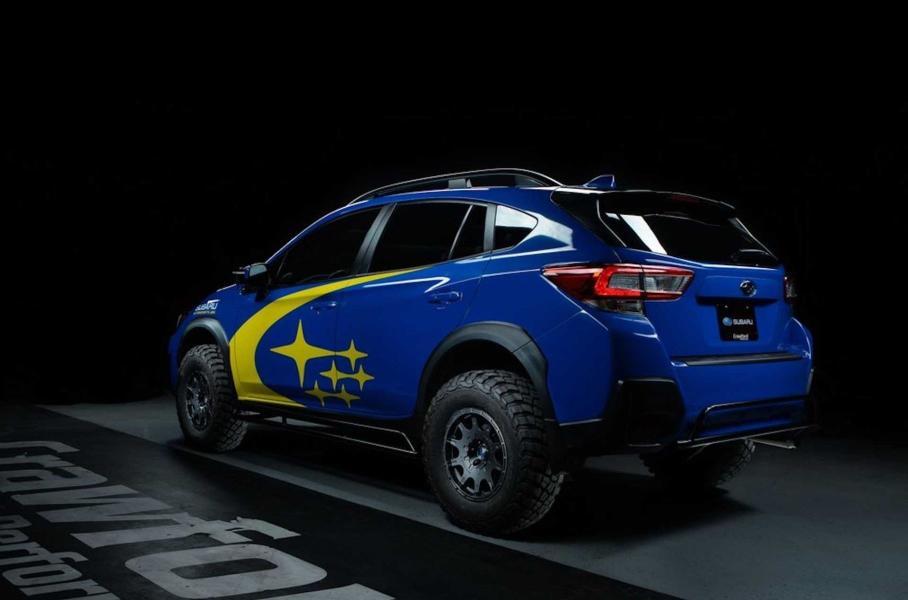 Subaru XV превратили в раллийный багги с 27-сантиметровым клиренсом 3