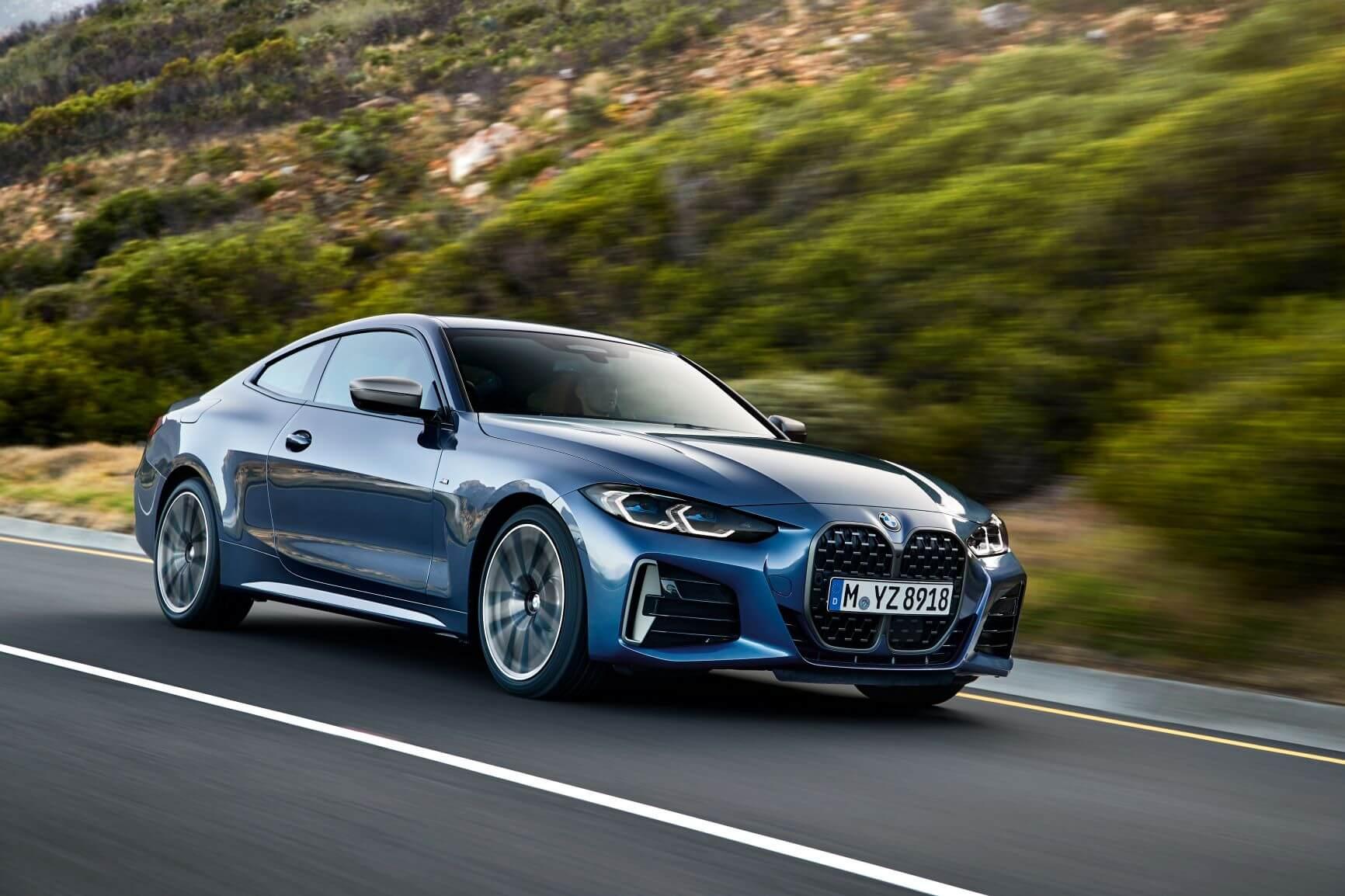BMW представила новое поколение купе 4 серии 1