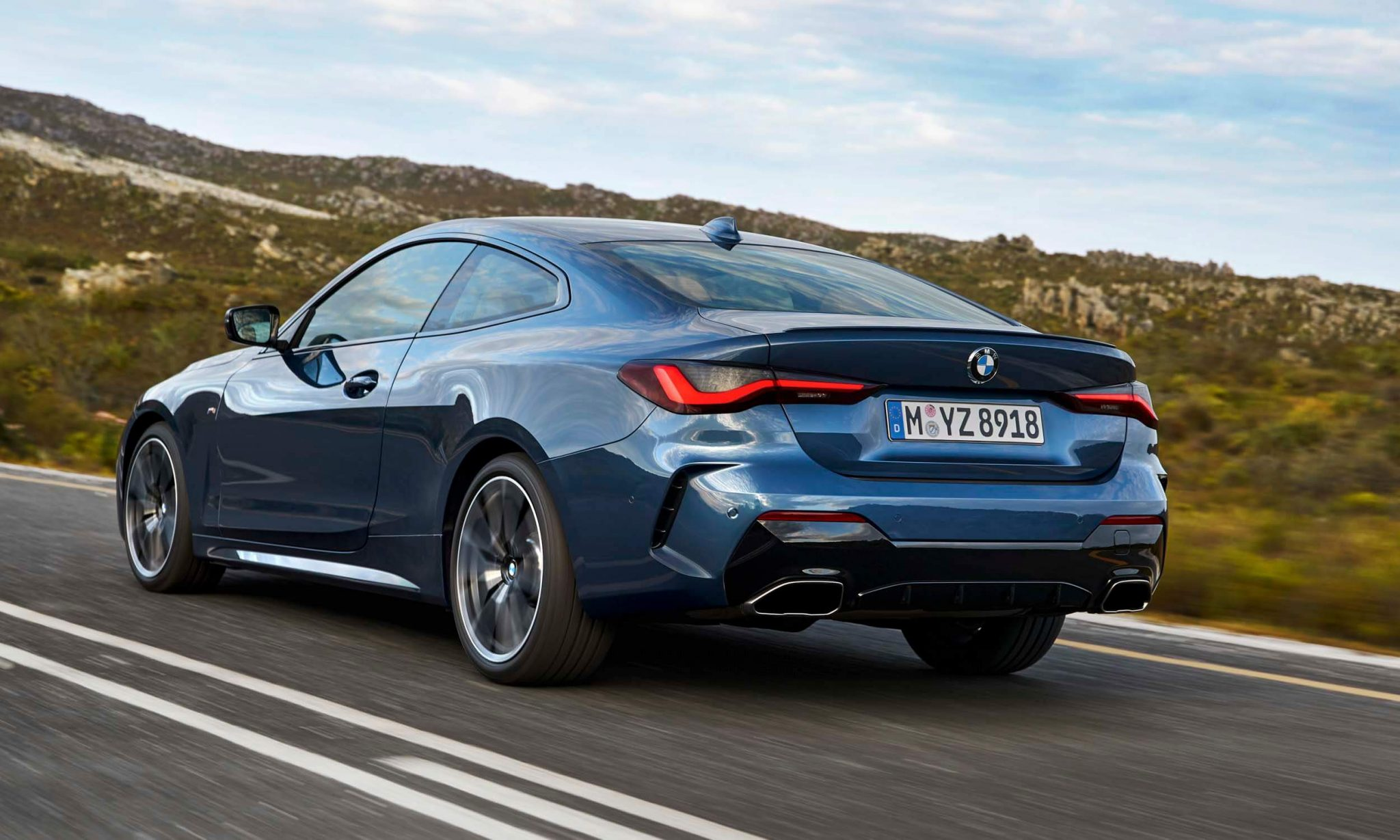 BMW представила новое поколение купе 4 серии 2