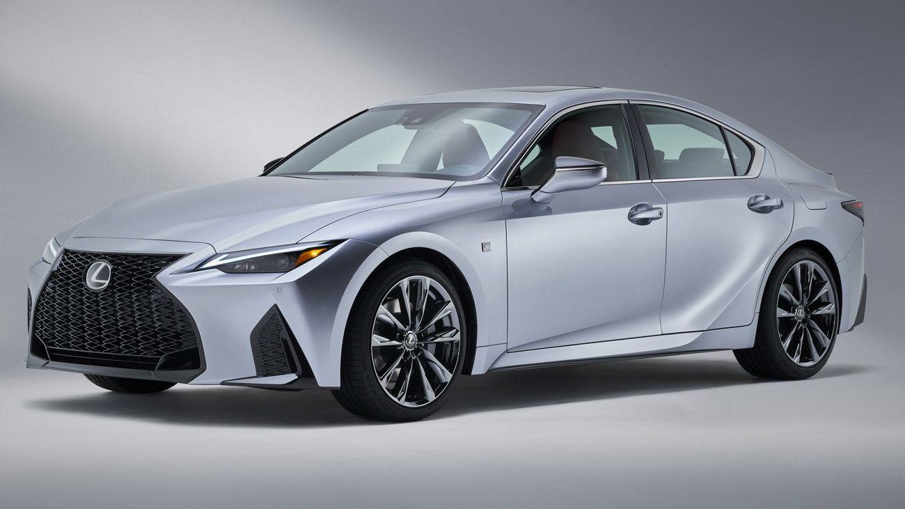 Новый Lexus IS раскрыт до официального дебюта 1